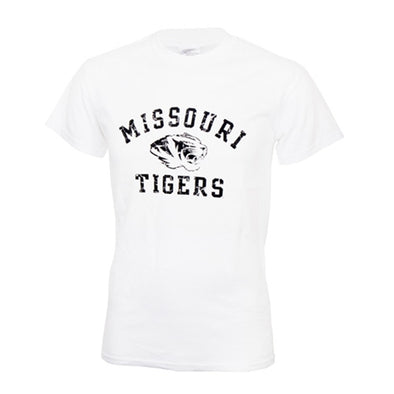 Missouri Tigers White Short Sleeve T-Shirt