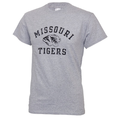 Missouri Tigers Grey Crew Neck T-Shirt