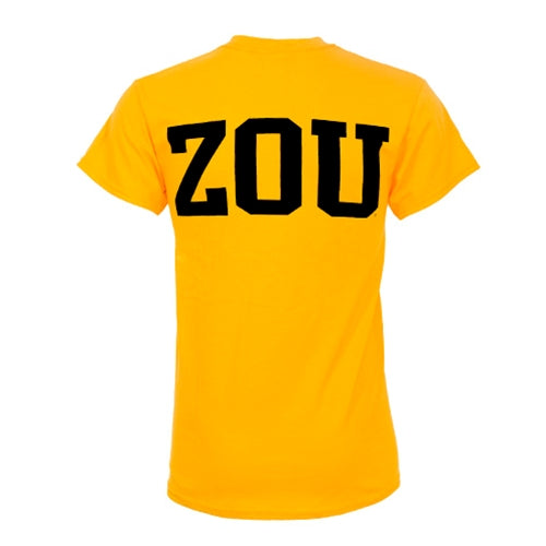 MIZ-ZOU Gold Short Sleeve T-Shirt