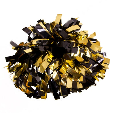 Mizzou Metallic Black & Gold Extra Large Pom Pom