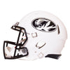 Mizzou Full Sized Authentic Oval Tiger Head Matte White Football Helmet
