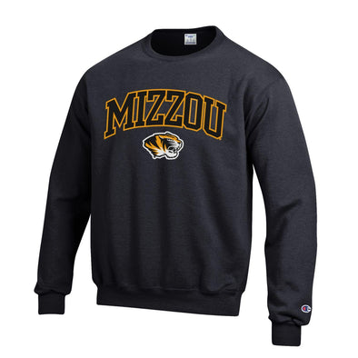 Mizzou Tiger Head Black Sweatshirt