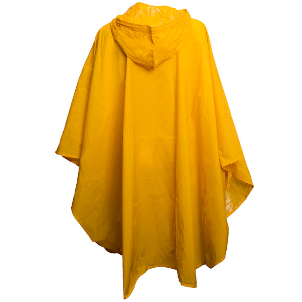 Mizzou Tiger Head Yellow Rain Poncho