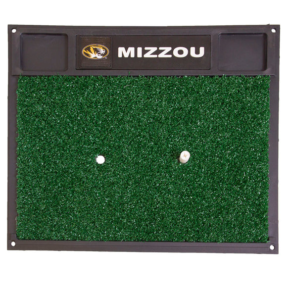 Missouri Oval Tiger Head Golf Hitting Mat
