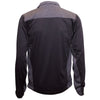 Mizzou Oval Tiger Head Black and Grey Full Zip Jacket