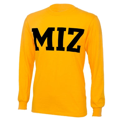 MIZ-ZOU Gold Long Sleeve T-Shirt