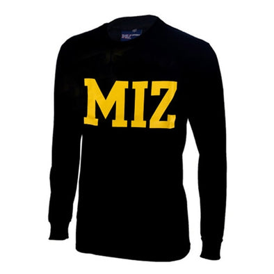 MIZ-ZOU Black Long Sleeve T-Shirt