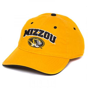 watch f6bbf 49715 Mizzou Oval Tiger Head Gold Adjustable Hat