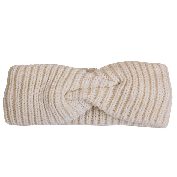 Mizzou Beanie Tiger Women's White Knit Headband
