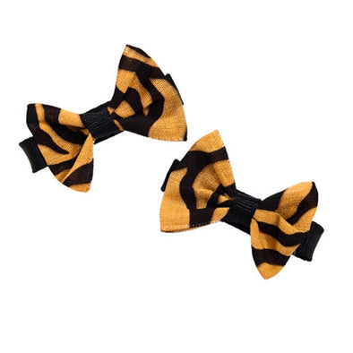 Mizzou Mini Hair Bows
