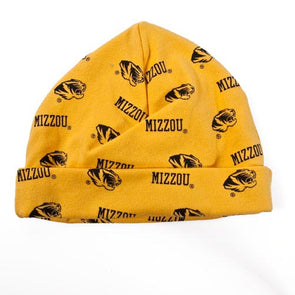 Mizzou Tiger Head Infant Warming Cap