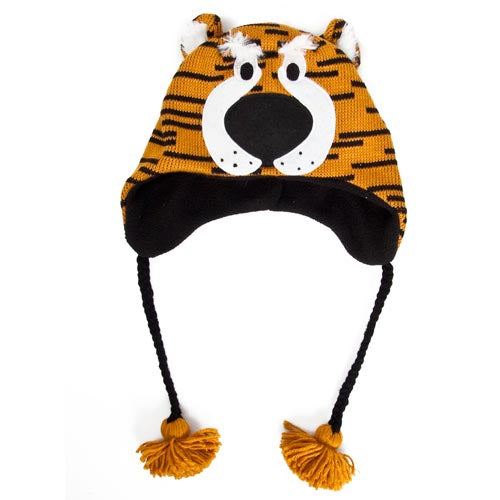Mizzou Tiger Head Knit Beanie
