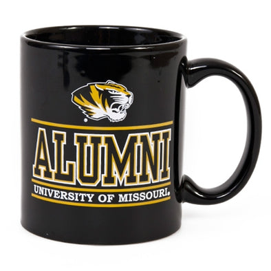 Missouri Alumni Black Mug