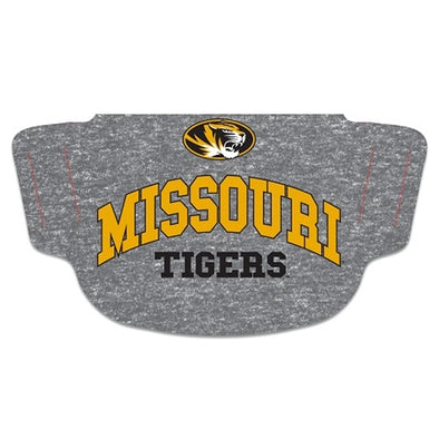 Mizzou Fan Mask Missouri Tigers Grey Two Ply