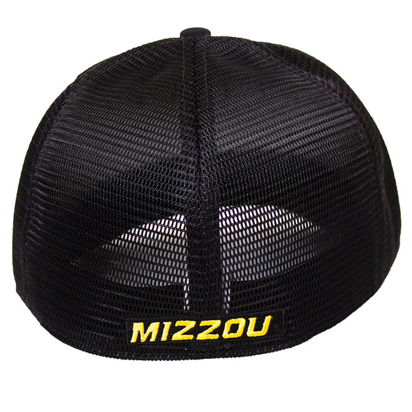 Mizzou Nike® 2020 Oval Tiger Head Black Mesh Back Hat