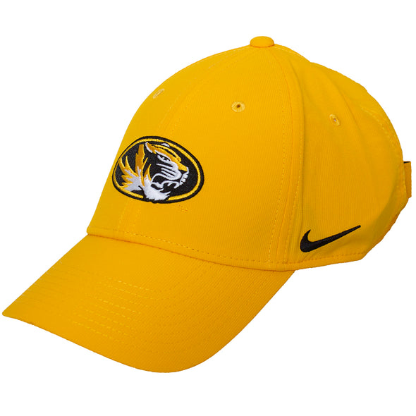 Mizzou Nike® 2020 Oval Tiger Head Gold Adjustable Hat