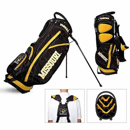 Missouri Fairway Stand Black and Gold Golf Bag