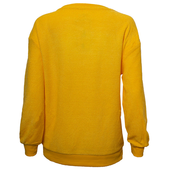 Mizzou Tigers Gold Pullover Sweater