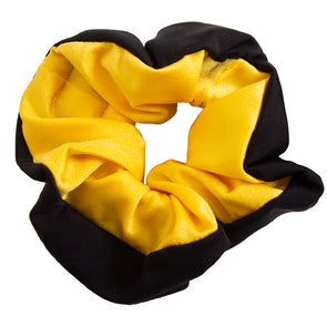Mizzou Black and Gold Pomchies Scrunchie