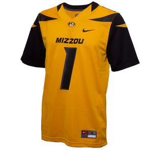 Mizzou Nike® 2020 Official Replica #1 Football Jersey