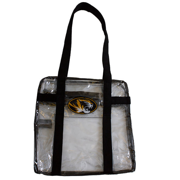 Mizzou Oval Tiger Head Clear Tote Bag
