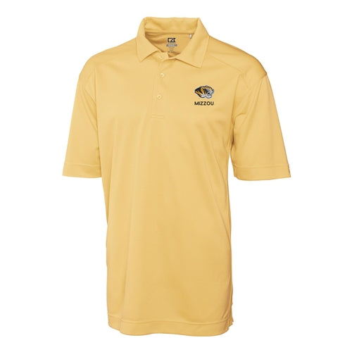 Cutter & Buck Mizzou Tigers Old Gold Polo