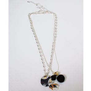 Mizzou Tiger Head Layered Necklace