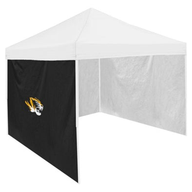 Mizzou Oval Tiger Head Black Tent Side Panel