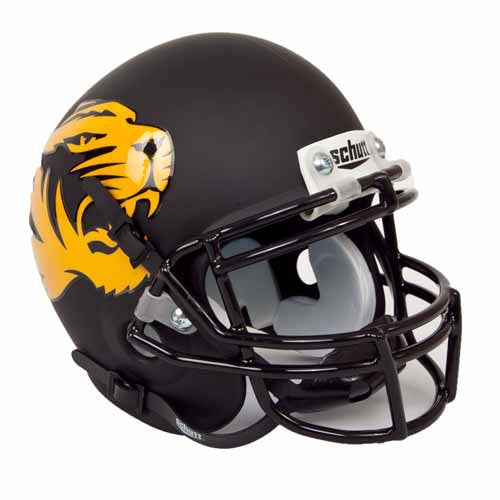 Mizzou Mini Replica Football Helmet