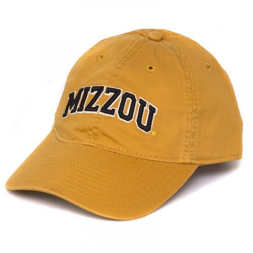 Mizzou Classic Collection Gold Adjustable Cap