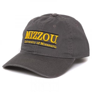 University of Missouri Charcoal Adjustable Hat