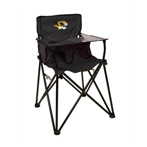 Mizzou Tiger Head Portable Tailgate High Chair