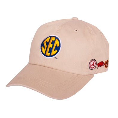 Mizzou SEC Teams Tan Adjustable Hat