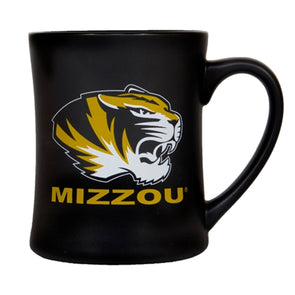 Mizzou Tiger Head Black Diner Mug
