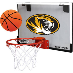 Mizzou Oval Tiger Head Basketball Hoop Set