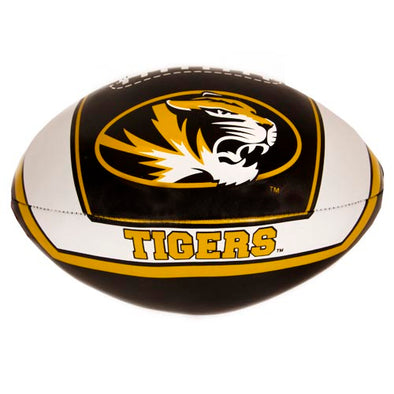 Mizzou Oval Tiger Head Soft Football