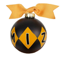 Mizzou Black Diamond Ornament