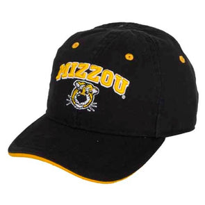 Mizzou Toddler Truman Adjustable Black Cap