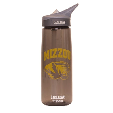 Mizzou CamelBak Tiger Head Black with Gold Water Bottle