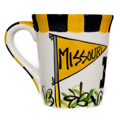 Missouri Pennant White Ceramic Mug