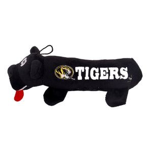 Mizzou Oval Tiger Head Tigers Black Pet Tube Toy