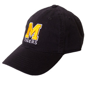 Mizzou Block M Adjustable Black Cap