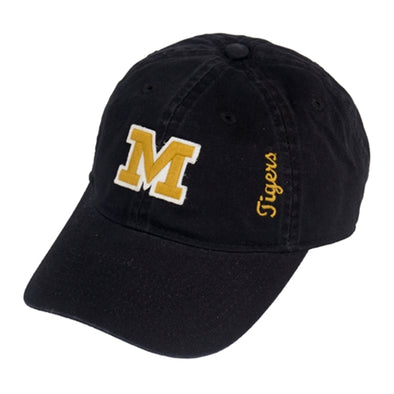 Mizzou Women's Block M Black Adjustable Hat