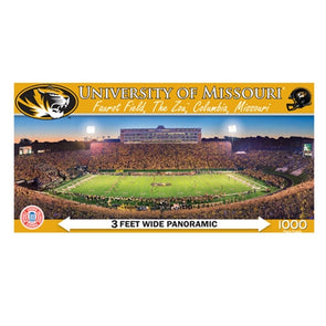 Mizzou Faurot Field Panoramic Puzzle