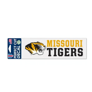 Missouri Tigers Perfect Cut Decal