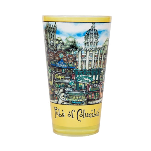 Pubs of Columbia Pint Glass