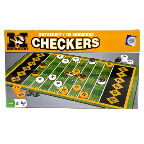 Mizzou Checkers Board Game