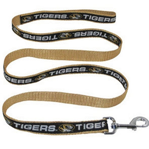 Mizzou Oval Tiger Head Pet Leash