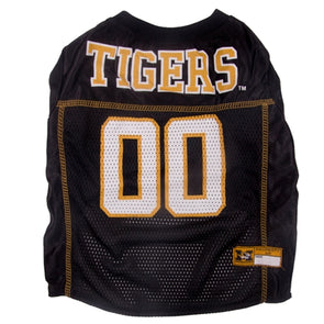 Mizzou Tigers Black Dog 00 Mesh Jersey