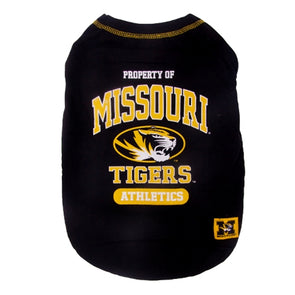 Missouri Tigers Pet Black T-Shirt